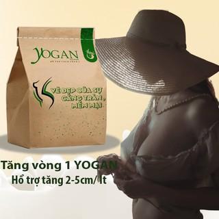 Tăng Vòng 1 Yogan. Tăng 2-5cm /liệu trình. Săn chắc, giảm chảy xệ, hổ trợ ngực ko đều. Điều kinh, giảm đau bụng kinh