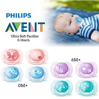 Ty ngậm SIÊU MỀM Avent cho bé từ 0-6, 6-18 tháng thumbnail