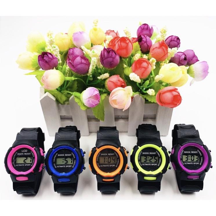 ( Giá Sỉ ) Đồng hồ điện tử thời trang trẻ em ULTIMATE SPORT Sr4499