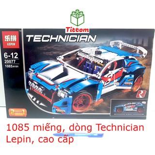 Bộ ghép hình cao cấp Lepin xe đua 1085 miếng dòng Technician