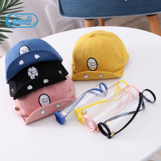 Boys Girls Mask Hat Baby Kids Caps Protective Face Shield Cover Mask Hats Anti Saliva Dustproof Dual-Use Sun Hat Yellow