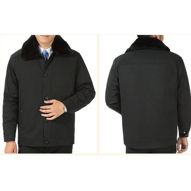 Áo khoác nam phù hợp với độ tuổi trung niên - thiết kế đơn giản ấm áp - Áo khoác nam phù hợp với độ tuổi trung niên - thiết kế đơn giản ấm áp