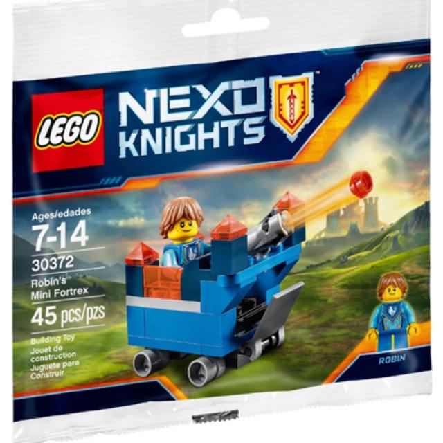 Lego Nexo Knights 30372 – Robin's Mini Fortrex polybag – Bộ xếp hình Lego Pháo đài mini của Robin