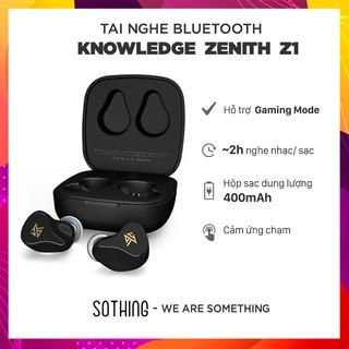 Tai Nghe Bluetooth Knowledge Zenith KZ Z1 ( Có Hỗ Trợ Chế Độ Gaming Mode) - Hàng Chính Hãng thumbnail