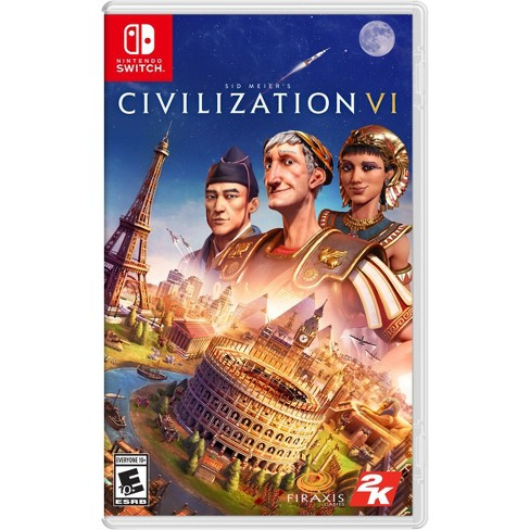 Đĩa Nintendo Switch Sid Meier's Civilization VI