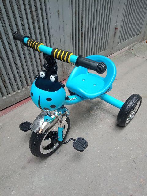Xe đạp 3 bánh 616 cho bé. Xe 3 bánh khung kim loại chắc chắn