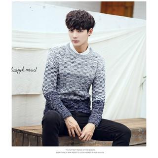 Áo len nam dài tay đẹp thời trang