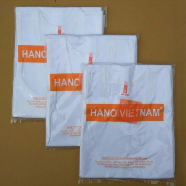 Bộ 05 áo lót thời trang nam cổ tròn-hàng Việt Nam