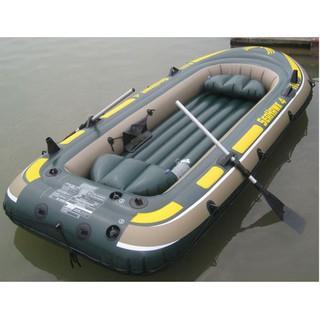 Thuyền bơm hơi Seahawk 4 người 68351 tặng 1 bộ mái chèo dự phòng trị giá 250k