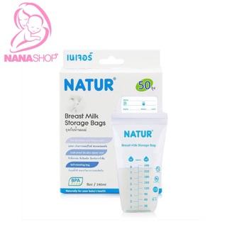 Túi trữ sữa Natur loại 30 và 50 miếng nhập khẩu Thái Lan.