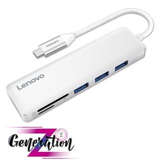 BỘ CHUYỂN USB TYPE-C RA 3 USB 3.0 + SD + TF LENOVO C605SL - MULTIPORT HUB TYPE-C -> 3 USB 3.0 + SD + TF LENOVO (C605SL)