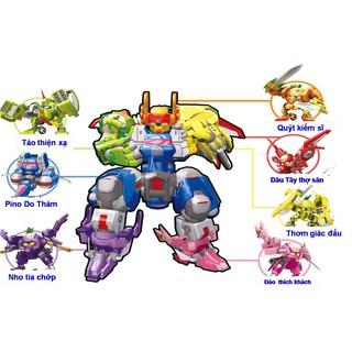 Robo Trái Cây – Trọn bộ Thất Tinh Siêu Robo – YW520721-ABCDEFG