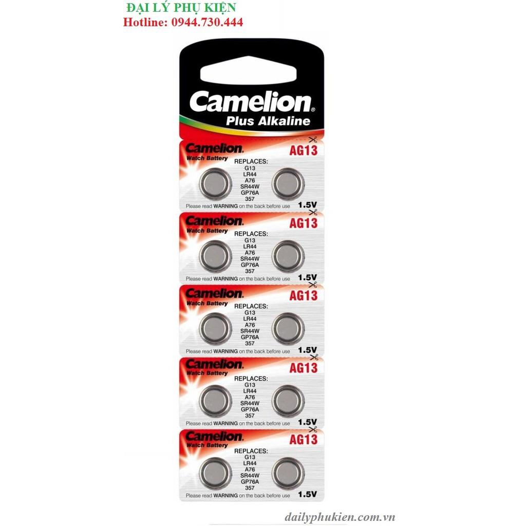 Pin nút áo Camelion 1.5V AG13