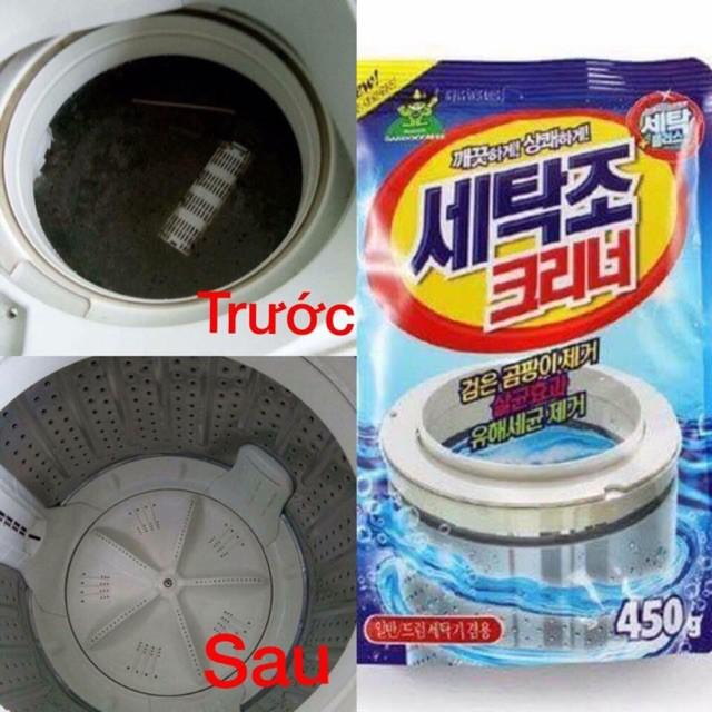 [GIÁ HỦY DIỆT] Bột tẩy lồng máy giặt Hàn Quốc