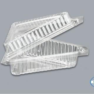 Lố 100 hộp nhựa tam giác đựng bánh -mã TA07, hộp tam giác TA07