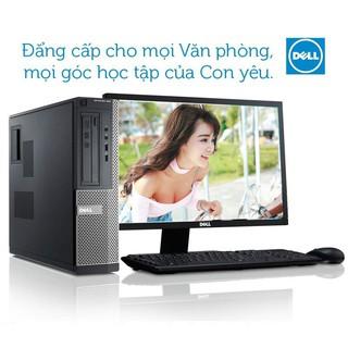 Cây máy tính Dell 3010 Cpu i7 2600 ram 8gb Ổ SSD 240Gb.Màn Dell E2216HV. Tặng phím chuột, usb wifi
