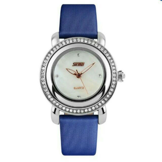 Đồng hồ nữ skmei dây da