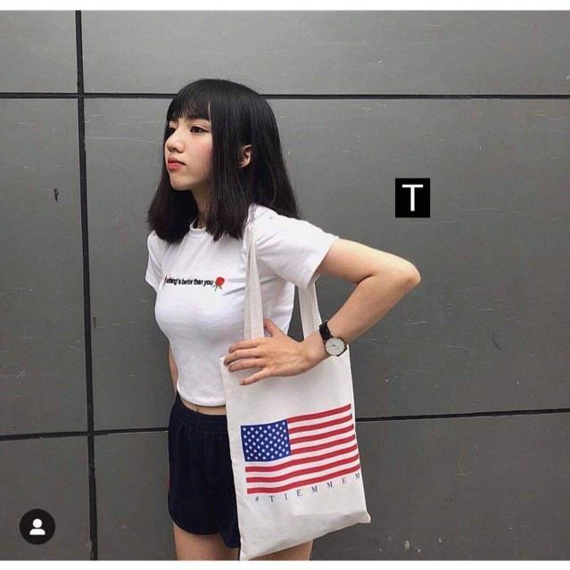 Túi cờ mỹ Tr&Đ