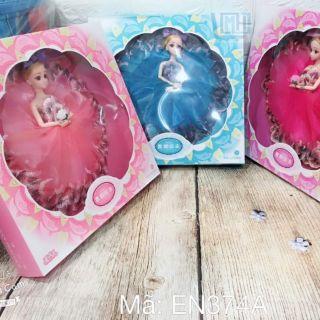 Búp bê công chúa hộp đẹp cho bé yêu