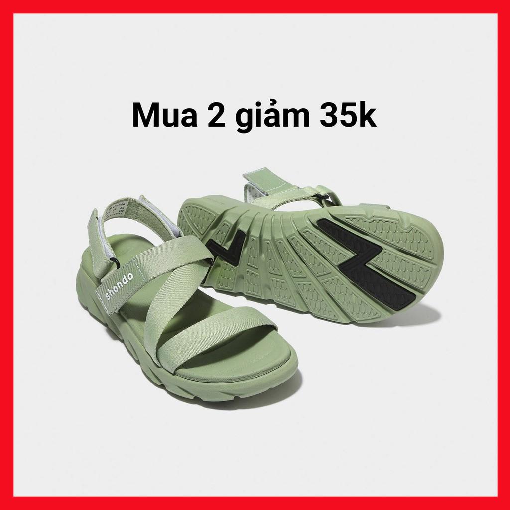 Màu Bơ Giày Sandals SHONDO F6 Sport – F6S007