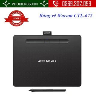 Bảng vẽ Wacom CTL-672 với bút cảm ứng không pin dùng cho thiết kế và đồ họa máy tính và Cả Điện Thoại Android thumbnail