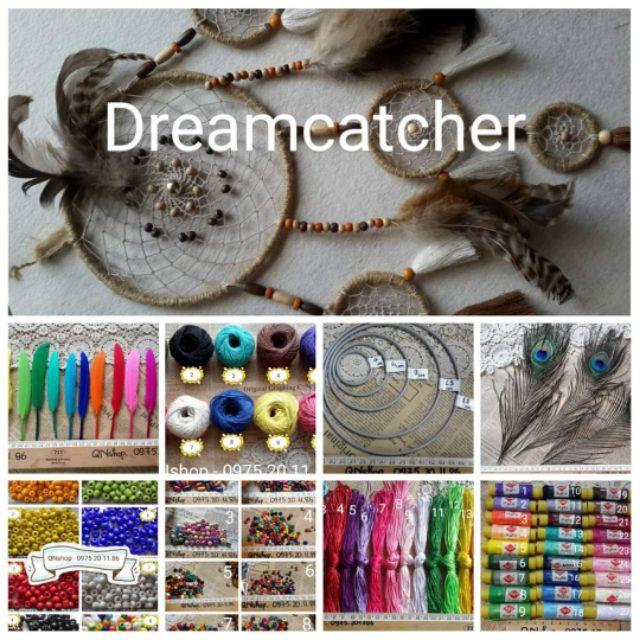 Nguyên liệu làm Dreamcatcher, nguyên liệu Handmade