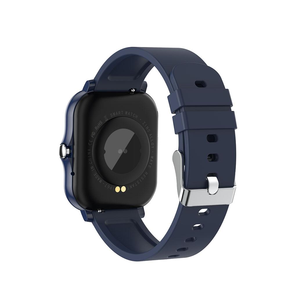 Đồng Hồ Thông Minh Kết Nối Bluetooth V5.0 Chống Nước Ip67 Theo Dõi Sức Khỏe Kèm Phụ Kiện