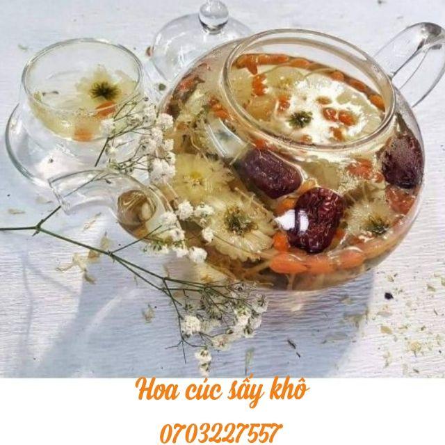 1KG Hoa cúc/ Bông cúc sấy khô ngon rẻ, chất lượng ( Trà)