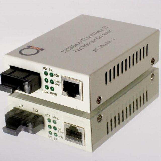 Media Converter kết nối dây quang thay thế dây Lan