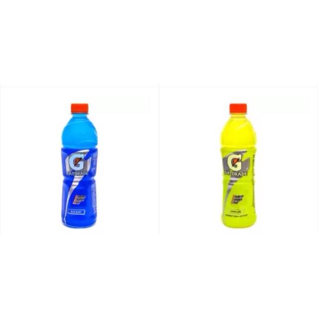 Bộ 4 chai Nước uống điện giải Gatorade vị Blue chai 500ml