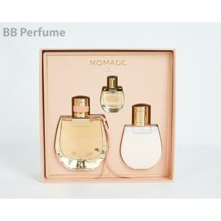 Bộ quà tặng nước hoa Chloe Nomade For Women_ Eau De Parfum 75ml-100ml-5ml thumbnail