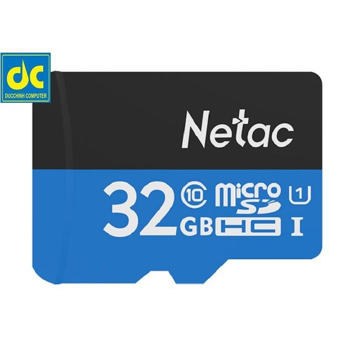 [FLASH SALE]  Thẻ nhớ Netac MicroSD 32 GB class10  [TOÀN QUỐC]