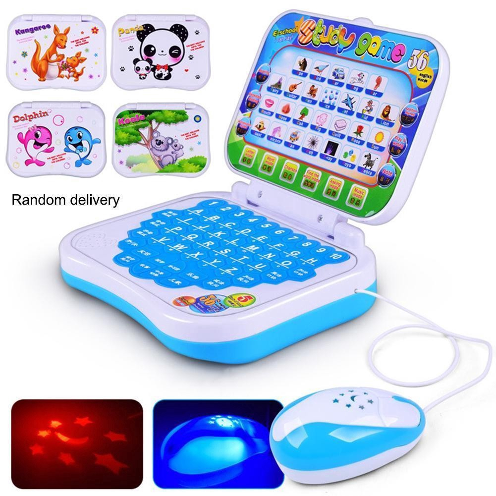 Baby Kids Pre School Educational Learning Study Toy Computer Laptop PC Game Fun