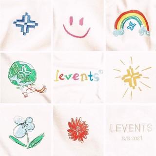 Hình ảnh Áo thun LEVENTS Loveyou300k Special/ Cream-2