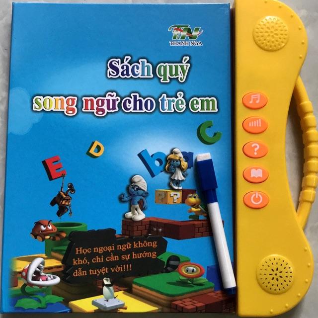 Combo Sách Quý Song Ngữ Cho Bé Tặng 3 Vở Tập Tô Tự Xoá