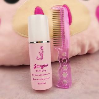 Chai xịt dưỡng bảo vệ tóc giả kèm lược cho búp bê manocanh