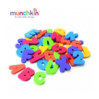 Bộ chữ số xốp kích thích sự phát triển trí não sớm ở trẻ nhỏ Munchkin