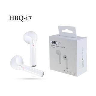 Tai nghe nhét tai kết nối bluetooth có tích hợp micro dùng cho iPhone I7 i7 Xiaomi Samsung