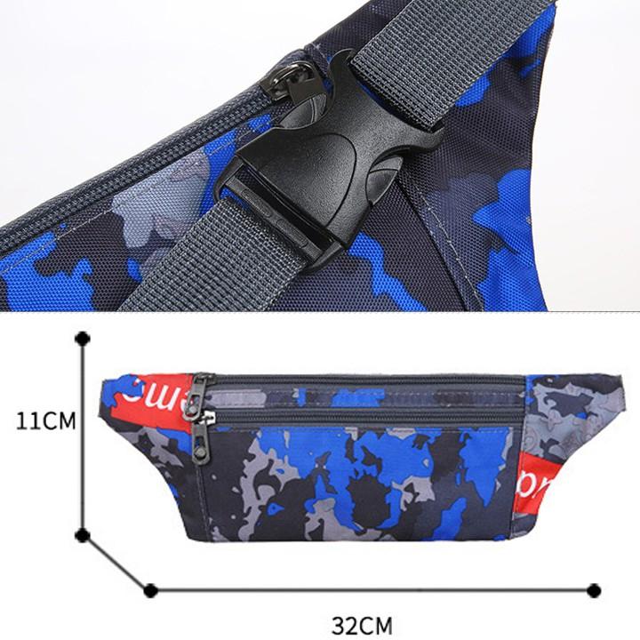 Túi đeo chéo nam nữ, túi bao tử kiểu dáng trẻ trung năng động TC005