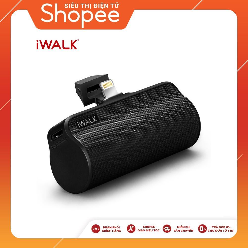 Pin sạc dự phòng iWALK 5000mAh Link Me Plus DBL5000L - Hàng chính hãng