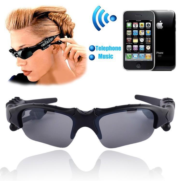 Kính mát kiêm tai nghe Bluetooth tiện dụng