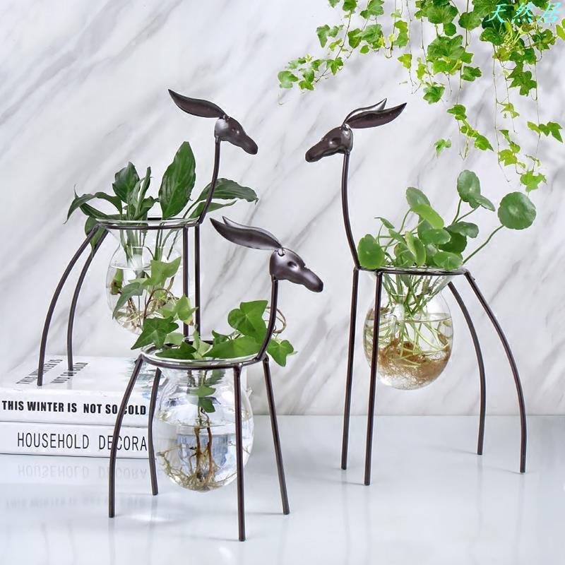 đế gỗ để chậu hoa trang trí sáng tạo