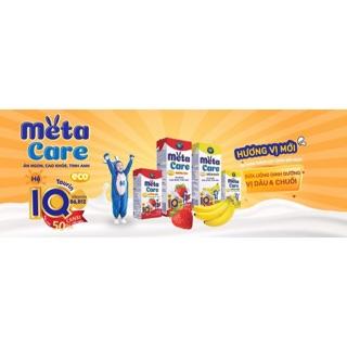Sữa bột pha sẵn Metacare đủ vị loại 180ml