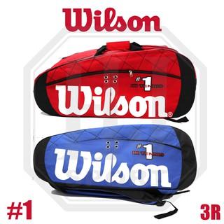 Wilson Balo Đựng Vợt Tennis 3r 1 Tiện Dụng thumbnail