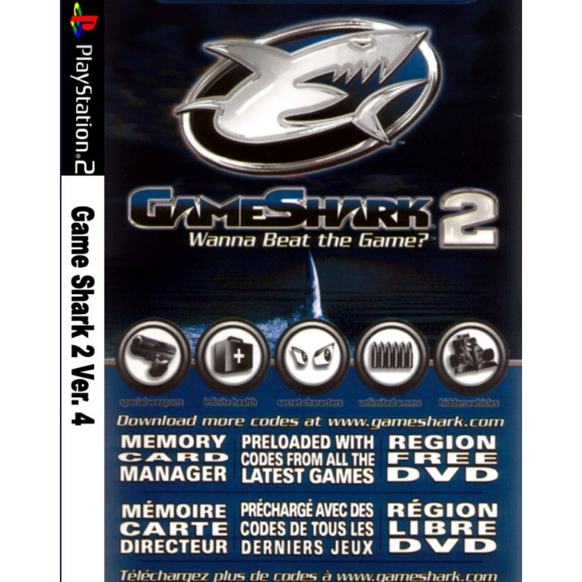 Game Shark 2 - 1 DVD