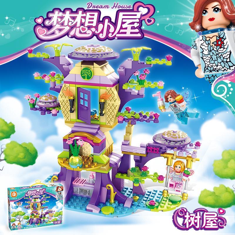 Bộ đồ chơi lego lắp ráp xinh xắn cho bé gái