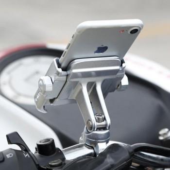Giá Đỡ - Kẹp Xe Máy  MOTOWOLF Cực Chắc Chắn Gắn Gương Chiếu Hậu