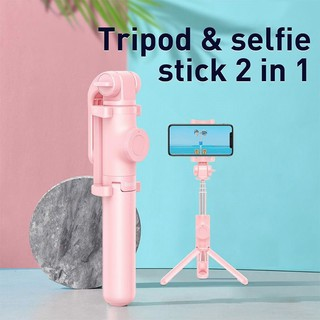 Gậy Selfie Tích Hợp Tripod Xếp Gọn Baseus Lovely