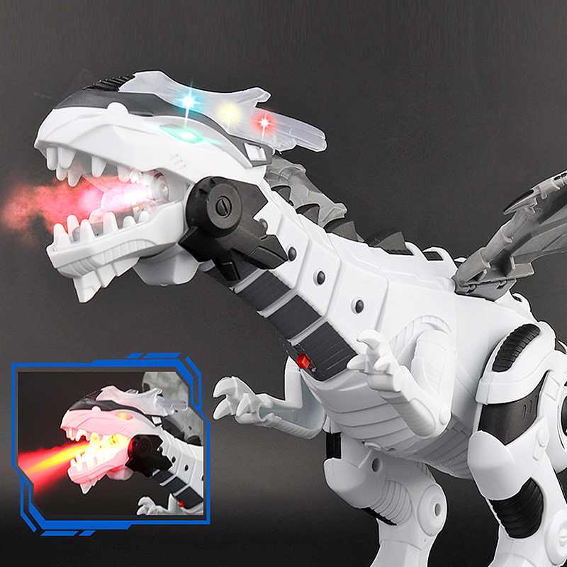 Electronic Dinosaur Toy Walking with LED Light Up Roaring Realistic Simulation Sounds Dino Dinosaur Toys for Kids Gifts Age 3 4 5 6 7