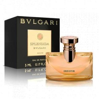 Nước hoa nữ BVL Splendida Iris D or EDP 5ml thumbnail